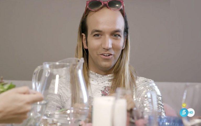Aless Gibaja cuenta en 'Ven a cenar conmigo' cómo robó la basura de los Beckham