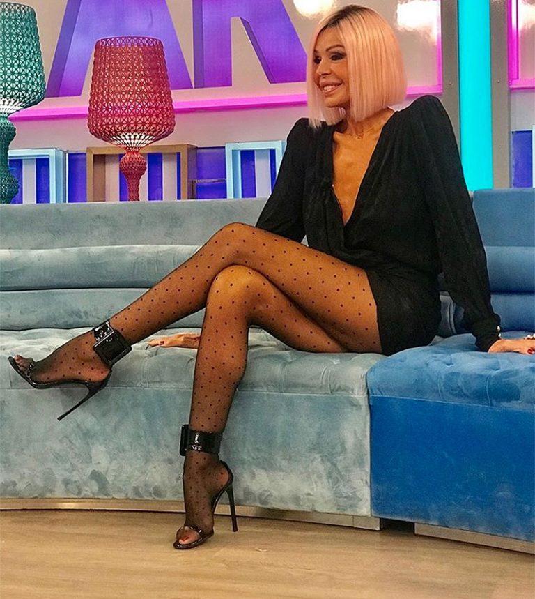 Fotos del día: Bibiana Fernández sorprende con un nuevo look con truco