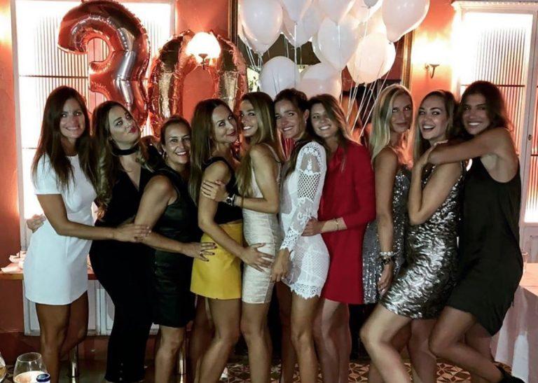 Malena Costa celebra su 30 cumpleaños con una fiesta por todo lo alto