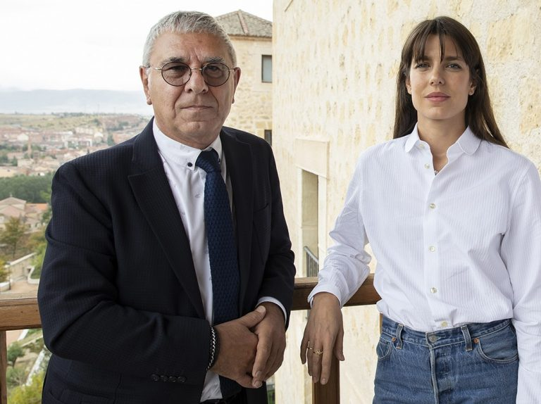 Carlota Casiraghi visita Segovia para hablar de filosofía