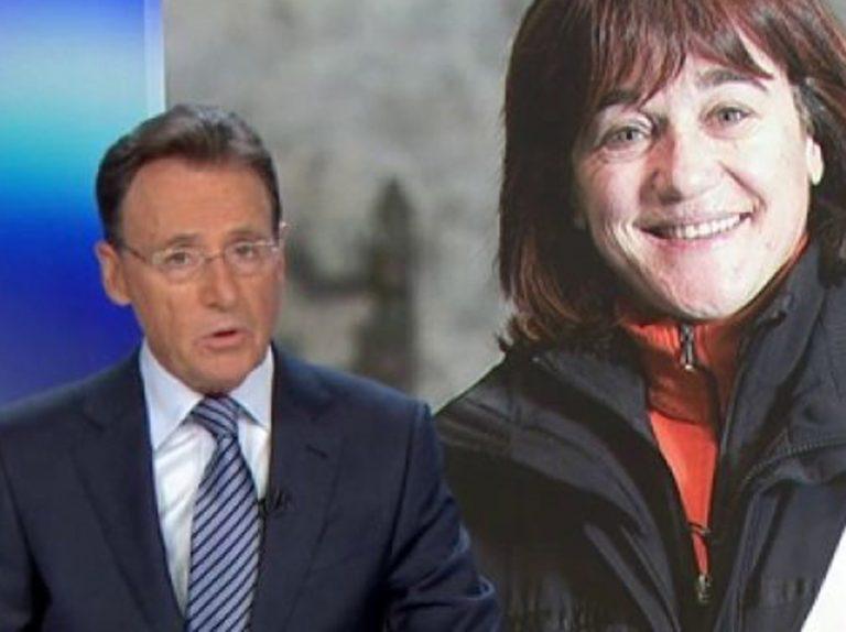 Matías Prats se emociona al informar sobre la desaparición de Blanca Fernández Ochoa