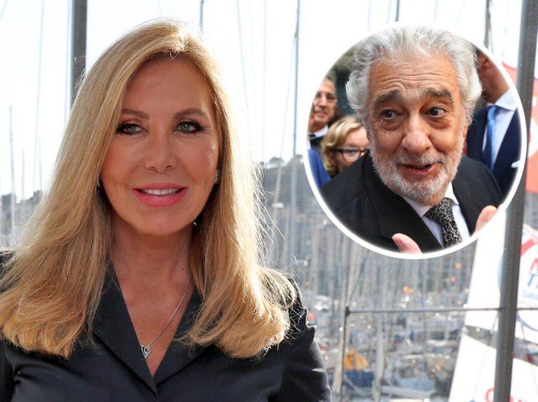 Norma Duval sale en defensa de Plácido Domingo de las acusaciones de acoso sexual