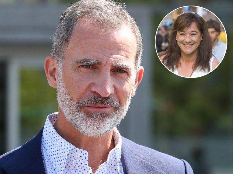 El rey Felipe da el pésame a la familia de Blanca Fernández Ochoa