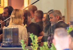 George Clooney revoluciona Madrid grabando un nuevo anuncio