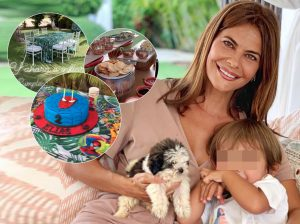 María José Suárez celebra por todo lo alto el 2º cumpleaños de su hijo Elías