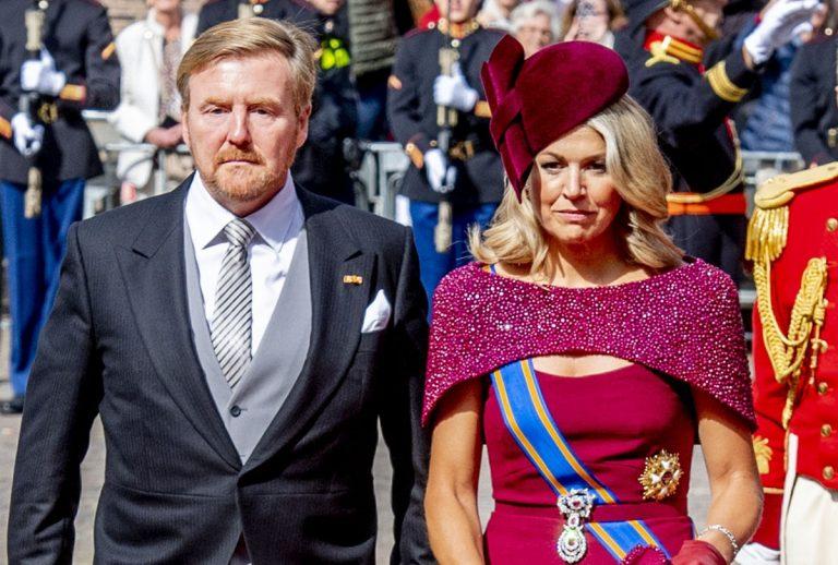 Guillermo y Máxima de Holanda, como auténticas estrellas en el Día del Príncipe