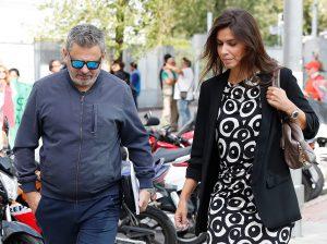 Miki Nadal y Carola Escámez se ven las caras en el juzgado de violencia sobre la mujer