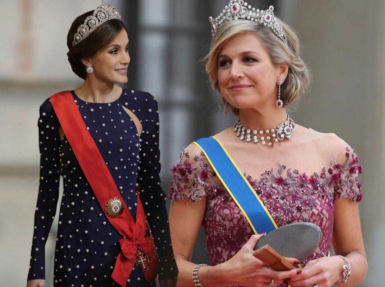 Letizia ya no vende como antes y la reina Máxima de Holanda ya le hace sombra