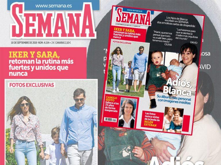 En SEMANA, los hijos de Blanca Fernández Ochoa escriben dos emotivas cartas de despedida