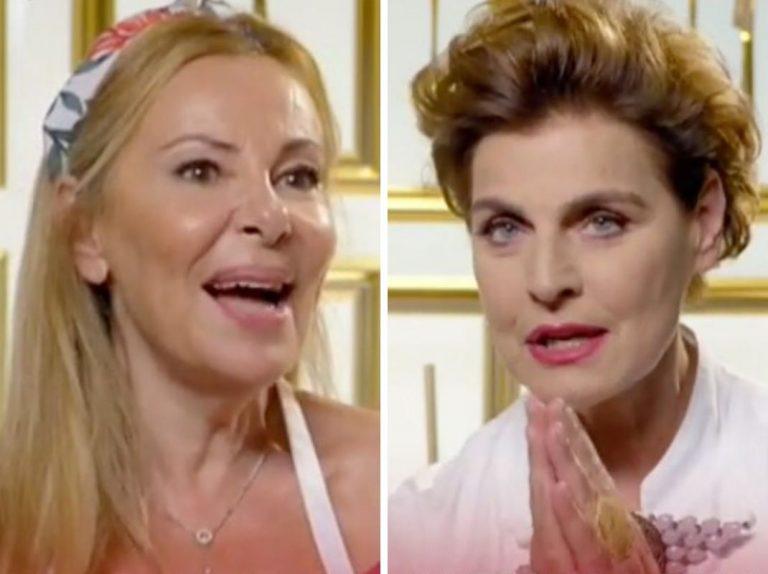 Masterchef Celebrity: Encuentro entre Ana Obregón y Antonia Dell'Atte