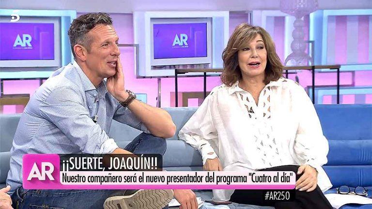 El mensaje de Ana Rosa Quintana a Joaquín Prat sobre su nuevo proyecto profesional