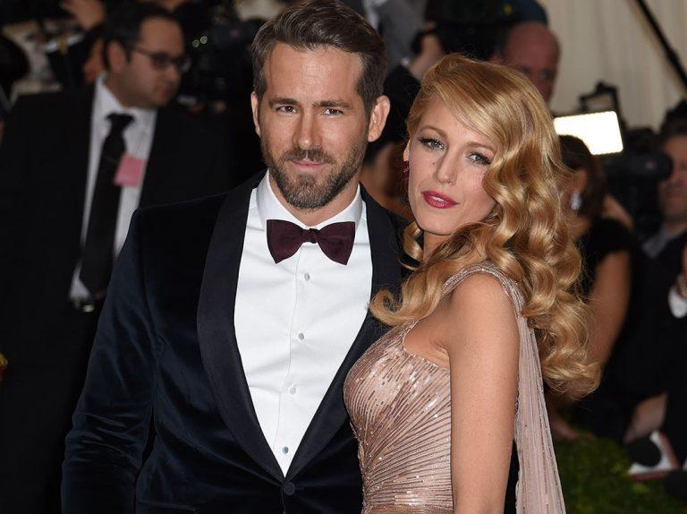 Blake Lively y Ryan Reynolds han sido padres por tercera vez