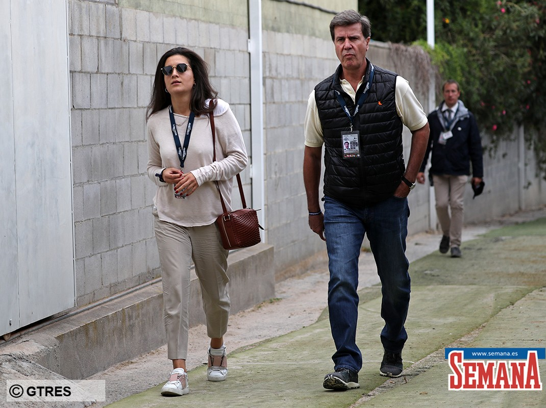 Cayetano Martinez de Irujo and Barbara Mirjan