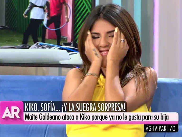 Chabelita Pantoja compara a su madre, Isabel Pantoja, con Maite Galdeano