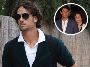 Feliciano López, uno de los primeros invitados en llegar a la boda de Rafa Nadal