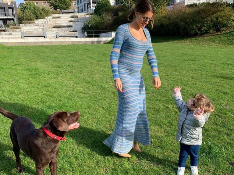 Hiba Abouk se prepara para ser madre: de 'prácticas' con la hija de unos amigos