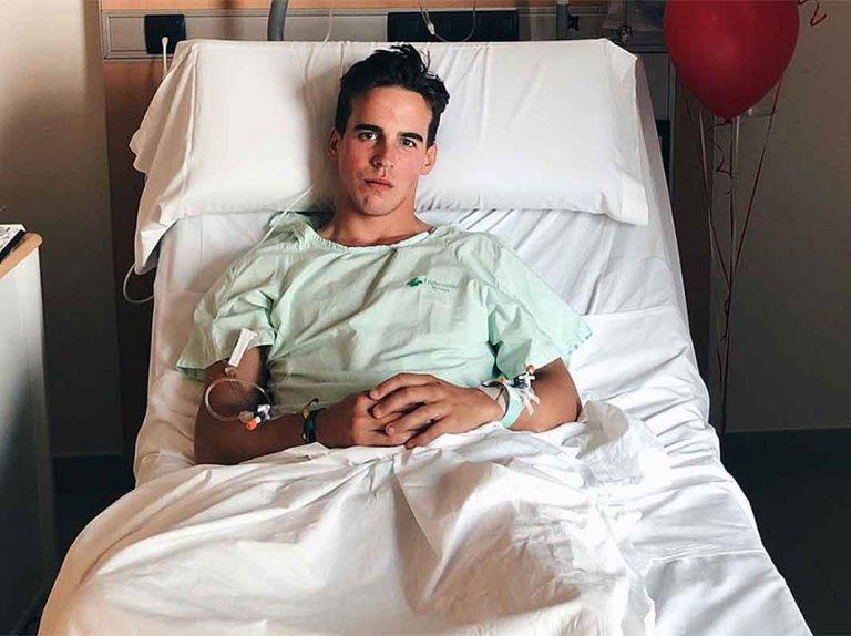 El último parte médico de Gonzalo Caballero revela buenas noticias