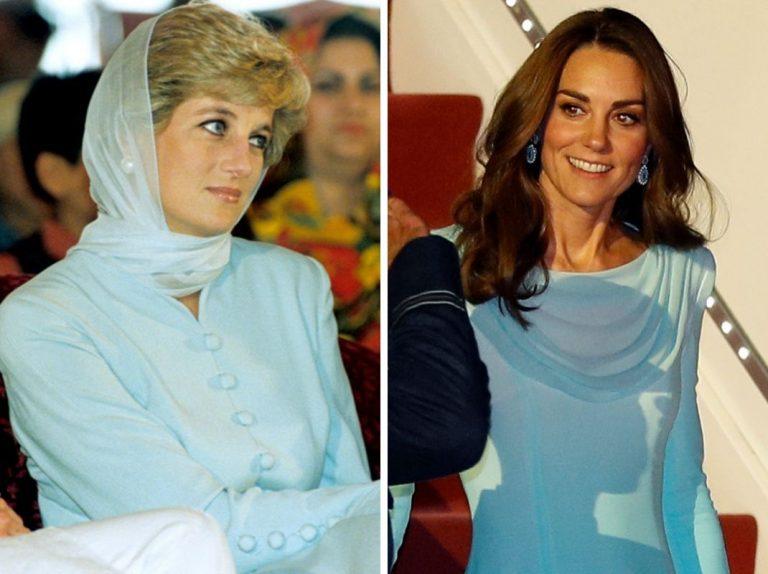 El guiño de Kate Middleton a Lady Di en su viaje a Pakistán