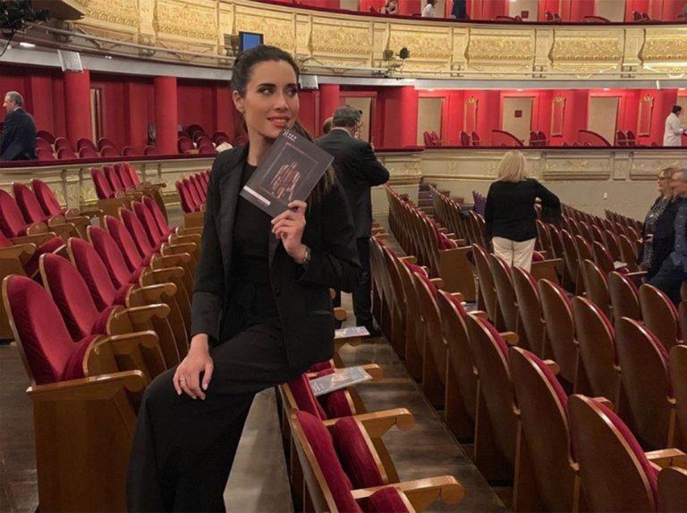 Fotos del día: Pilar Rubio aparca el rock para disfrutar de la ópera
