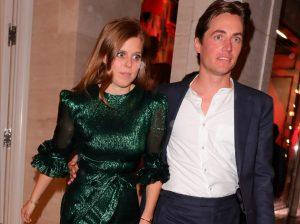 Beatriz de York y Edoardo Mapelli: primera salida (a tres) tras su compromiso