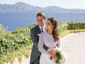 Las primeras fotos oficiales de la boda de Rafa Nadal y Xisca Perelló