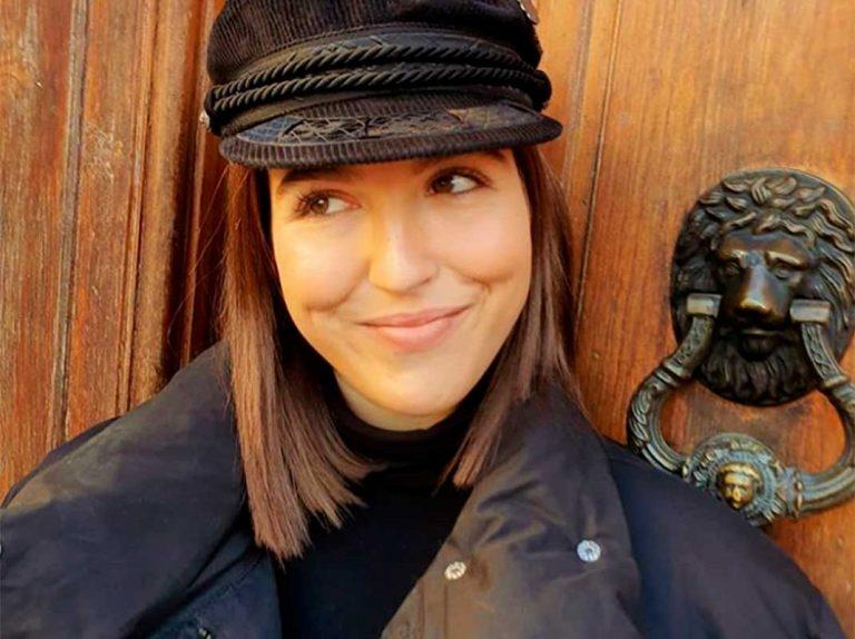 Alba Díaz recibe una visita muy especial (y familiar) en París