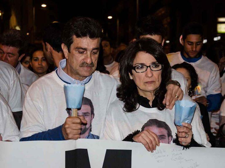 Primeras palabras de la madre de Mario Biondo tras los resultados de la tercera autopsia