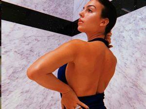 Georgina Rodríguez anima a todos a hacer un bizcocho con su foto más erótica