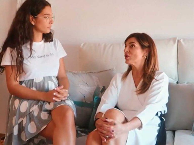 Raquel Bollo, sobre el embarazo de su hija, Alma Cortés: «Solo lloraba y lloraba»