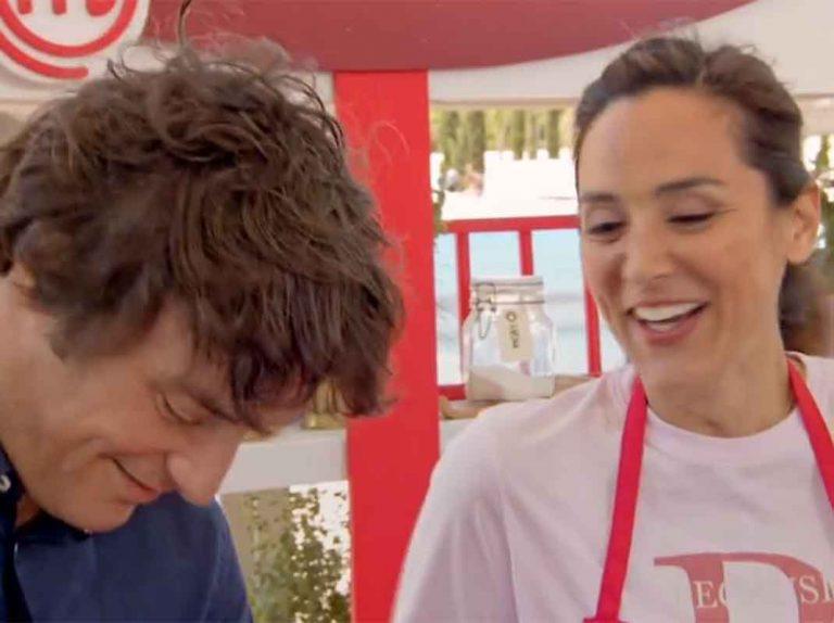 MasterChef Celebrity 4: El «tonteo» entre Jordi Cruz y Tamara Falcó