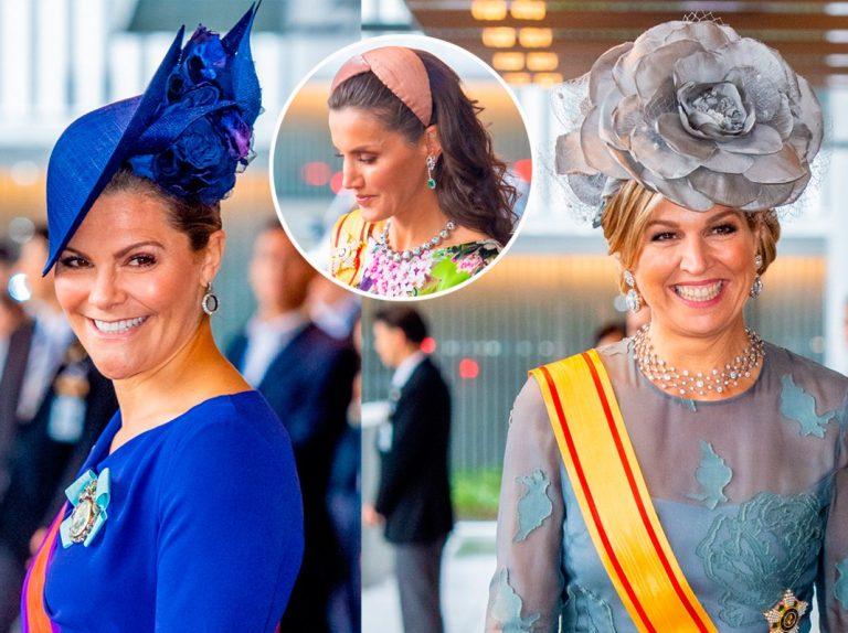 Letizia se desmarca (de cabeza) del resto de reinas europeas