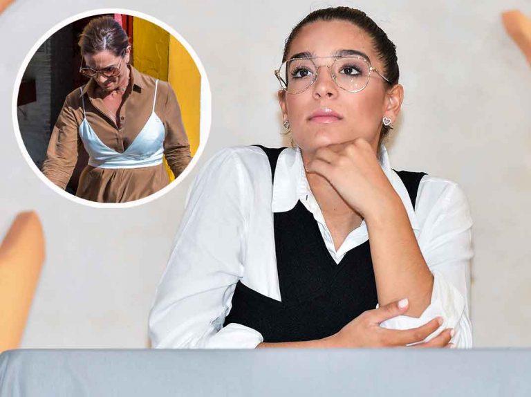 Alma Cortés Bollo encuentra la inspiración en su madre, Raquel Bollo, para su primer look premamá