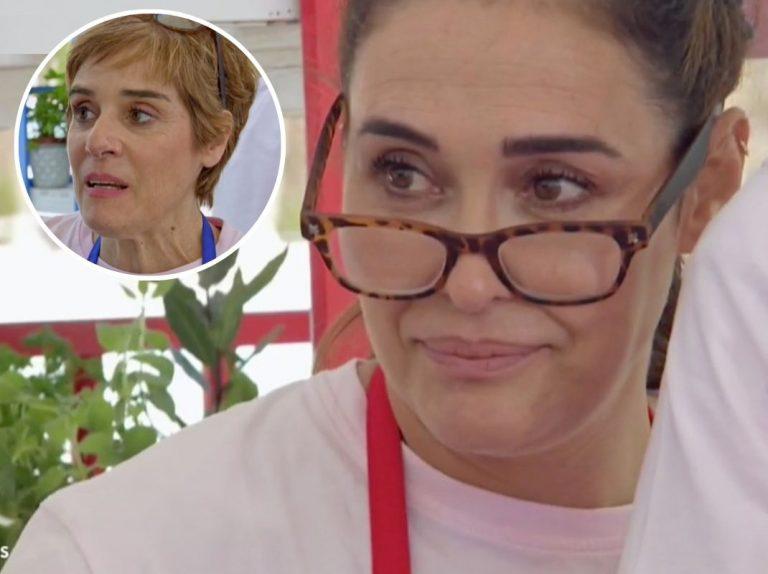 'Mastecrchef Celebrity': Vicky Martín Berrocal le roba las gafas a Anabel Alonso