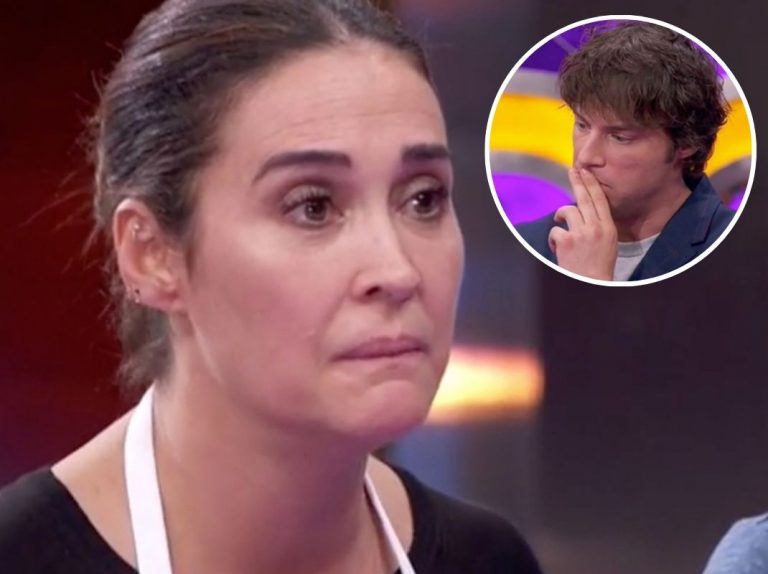 'Masterchef Celebrity': La monumental bronca de Jordi Cruz a Vicky Martín Berrocal