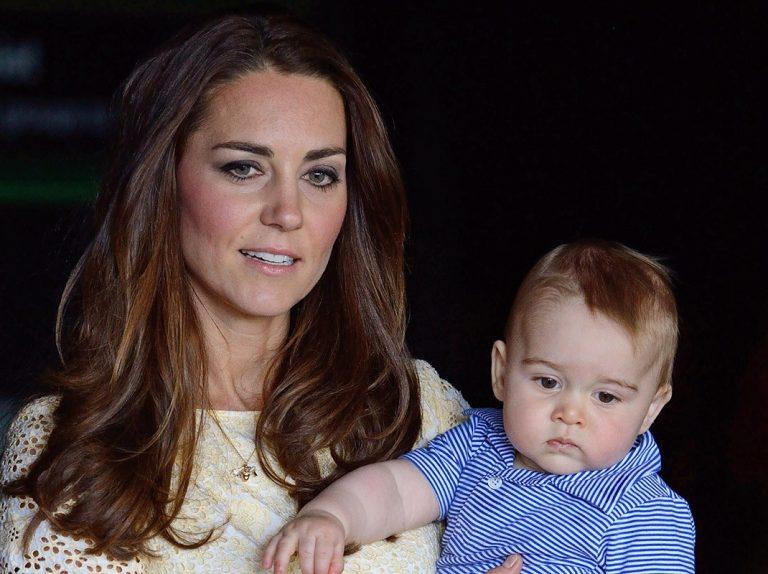 El vídeo más adorable de Kate Middleton y el príncipe George