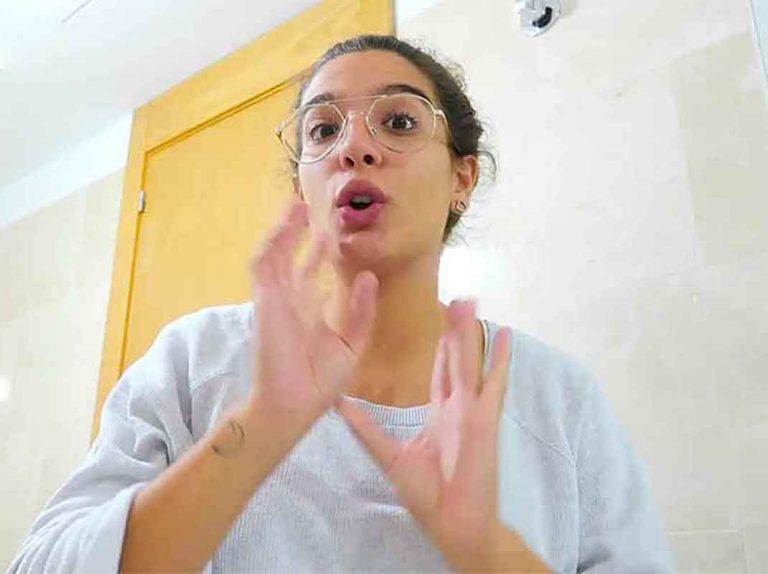 Alma Cortés se muestra como nunca la habíamos visto: a cara lavada