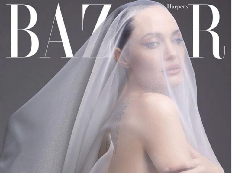 Angelina Jolie se desnuda para lanzarle un duro ataque a Brad Pitt