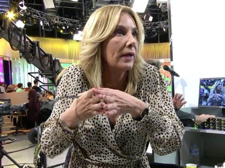 'Sálvame': Belén Rodríguez estalla contra sus compañeros: «Son unos fascistas»
