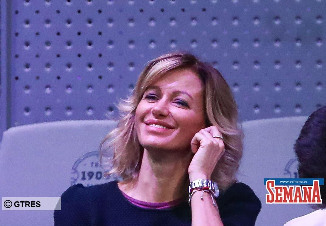 Presenter Susana Griso  during 2019 Davis Cup Final at La Caja Magica on Sunday, November 24, 2019.