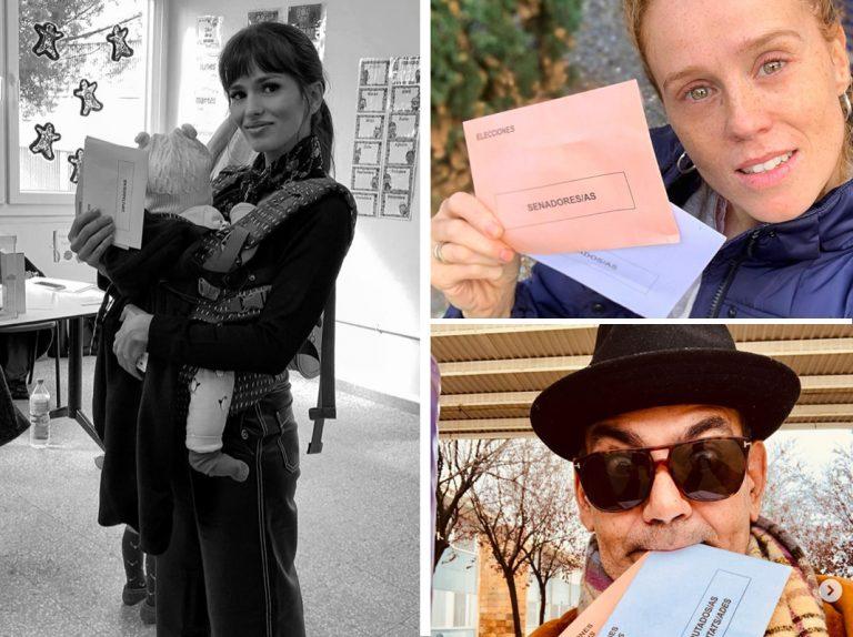 Elecciones 10N: Los famosos ejercen su derecho al voto y acuden a las urnas