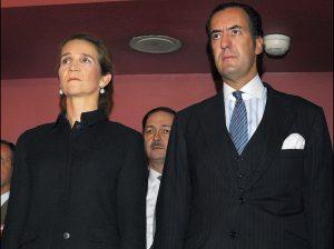 12 años del día que los Borbón causaron polémica por la infanta Elena y Jaime de Marichalar
