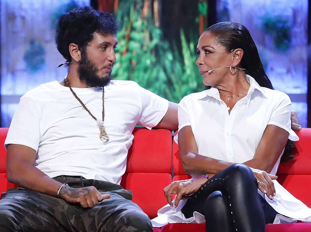Omar Montes e Isabel Pantoja