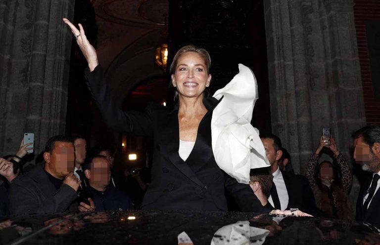 El desplante de Sharon Stone a la prensa española