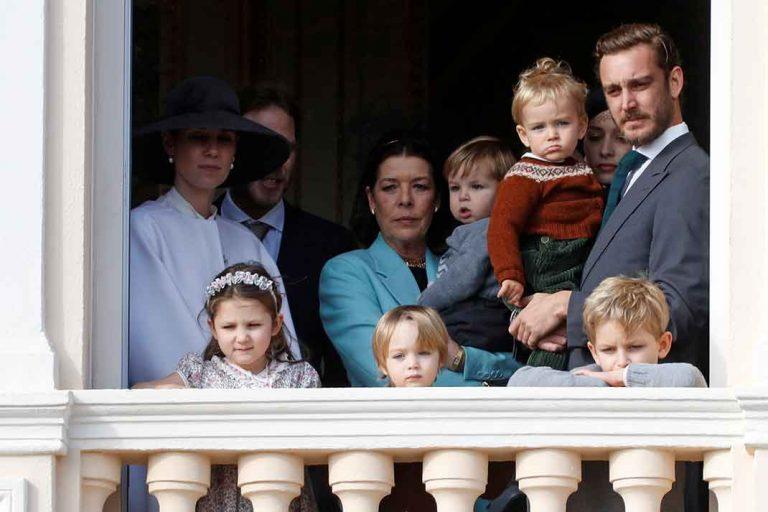 Los pequeños de la familia real de Mónaco, protagonistas del Día Nacional