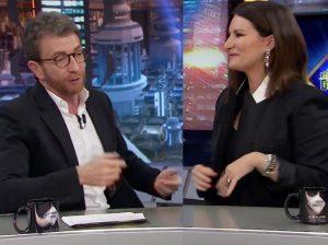 'El Hormiguero': Pablo Motos pilla a Laura Pausini desnuda en su camerino