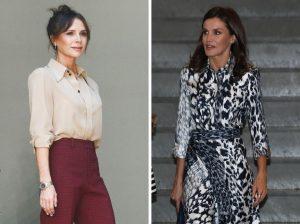 Victoria Beckham agradece a Letizia haber lucido uno de sus diseños