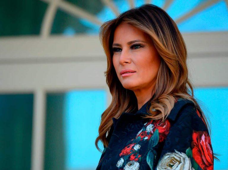 La imagen de Melania Trump que todos estábamos esperando y que no está exenta de críticas