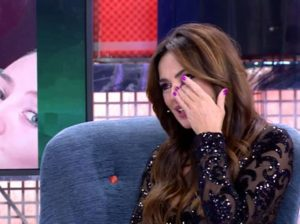 Olga Moreno se rompe al hablar de la demanda de Rocío Carrasco a Antonio David Flores