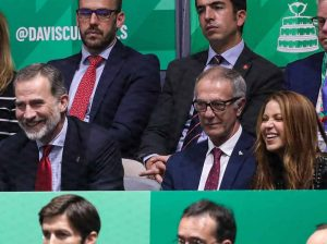 El feeling entre el Rey Felipe y Shakira: lo mejor de la grada en la Copa Davis
