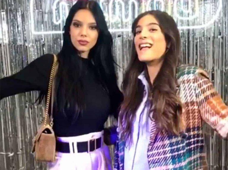 Alma Cortés y Alejandra Rubio se van de fiesta juntas por Madrid